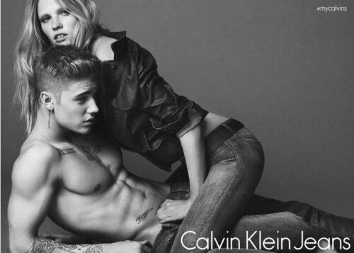 NEWS.Рекламная компания Бибер для Calvin Klein.